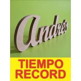 Letras En Mdf,10cm Nombres En Madera, Decoracion Eventos No1