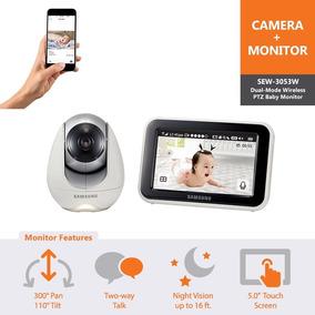 Baba Eletrônica Samsung Wisenet Babyview Com Internet Novo