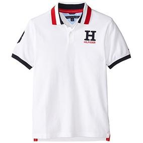 Tommy Hilfiger - Camisa Polo, Varones, Blanco, 20
