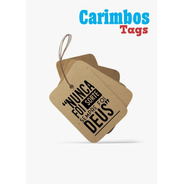 Carimbo Tag (nunca Foi Sorte Sempre Foi Deus!)