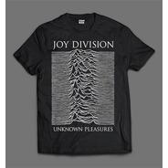 Camiseta Joy Division Unknown Pleasures  Foto Pz01j