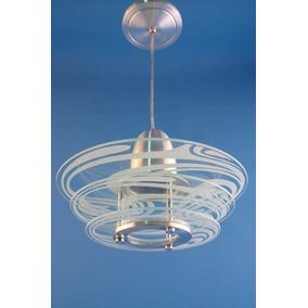2 Lustre Vidro Plafon P/ Quarto, Sala, Cozinha, Banheiro 351