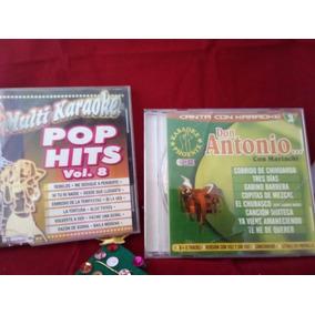 Cd Karaoke De Don Antonio Aguilar Y Pop Hits