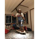 Prancha D Equilíbrio Simul. Longboard Lixa 100 % Transparent