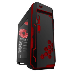 Gabinete Eagle Warrior Gamer Blade Vp Black Atx/matx
