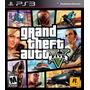 Juego Ps3 Gta 5 Grand Theft Auto V Nuevo Sellado Fìsico