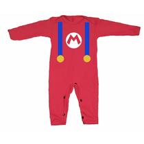 Disfraces Para Bebes - Mameluco De Mario Bros Y Mas