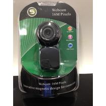 Web Cam Giro 360 Graus Com Microfone Cód1431