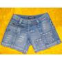 Shorts Jeans Feminino Marca Zaaper Tam. 36 S/ Strech Lika