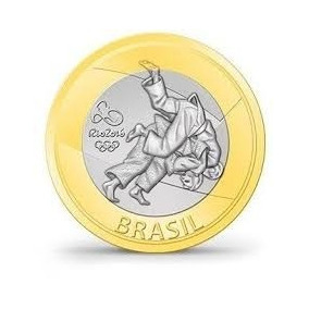 Moeda De 1 Real - Olimpíadas De 2016 No Rio, Capoeira