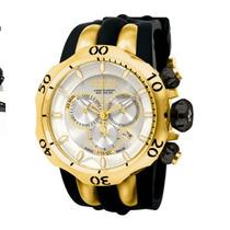 Relógio Invicta Reserve Venom Detalhes Dourado Ref 10834