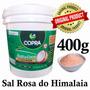 Balde Oleo De Coco 3,2 Litros Extra Virgem Copra + Sal Rosa