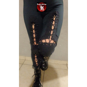 Ropa Dark, Leggin Frankenstein Glam Rocker Luna Alterna Shop