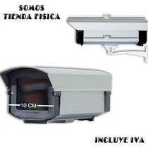 Housing Metalico Para Camara De Seguridad Con Base