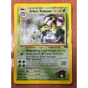 Cartas Pokemon Erika Venusaur Neo Holo Near Mint