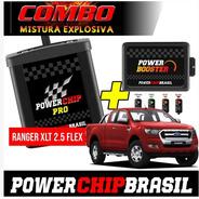 Chip Potência Ranger Xlt 2.5 Flex 173cv +20cv +30%torq Combo