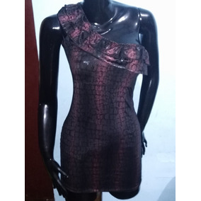 Mini Vestido Latex Plateado Ropa Infantil - Vestidos Mujer en ... 0853fe63b114