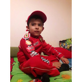 Disfraz De Piloto Corredor Ferrari F1 - Talle 4