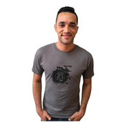 Camiseta  Lobo Skate Chumbo C032
