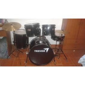 Bateria Musical Acustica Trevror Nueva