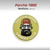 Parche Barbudo Tboc Pvc Tactico Militar Gotcha Paintball