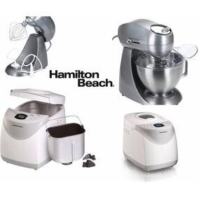 Combo Hamilton Beach Batidora Amasadora + Maquina Para Pan