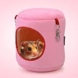 Cilindro Franela Casa Animal Domestico Caliente Hamster Cm