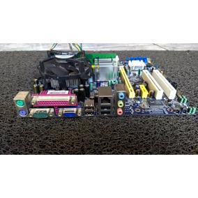 Kit Placa Mãe Foxcon N15235 Lga775 + 1gb Memoria + Processad