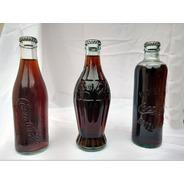 Botellas Vintage Coca Cola. Colección
