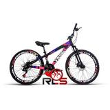 Bike Bicicleta 26 Freeride Vikingx Tsw Gta 21v Freio Disco