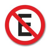 Placa De Transito Cod. 210027 - Proibido Estacionar