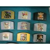 Juegos Cartuchos Nintendo 64 Originales N64 Coleccionistas