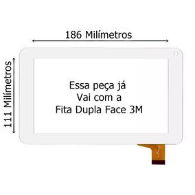 Tela Vidro Touch Tablet Multilaser M7s M7s 7 Polegadas Branc