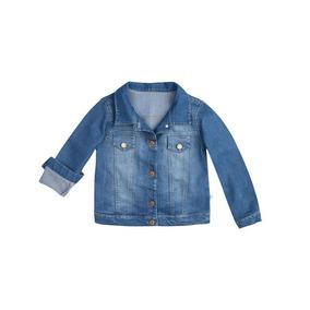 Jaqueta Jeans Infantil Feminina Hering Kids C82plusej