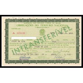 Obrigação - Tesouro Nacional - Reajustáveis