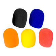 Rompevientos Filtro Anti Pop Pack X 5 Color Negro - La Roca