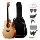 Emperial Acoustic Guitar Beginner 41 Cutaway Guitar