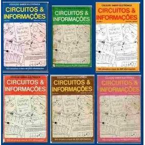 Coleção Revista Circuitos E Informações Eletrônica 7 Vol. +