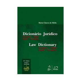 Dicionario Juridico - Portugues Ingles - Metodo