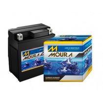 Bateria De Moto Moura Factor Ybr 125 Ed 2011 A 2013 - 5 Amp