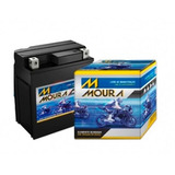 Bateria De Moto Moura Cg 125 Fan Es 2009 A 2013 - 5 Amperes