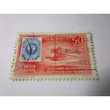 Centenario Del Primer Sello Postal Colombia Estampilla L8