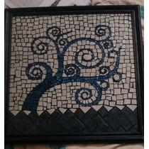 Cuadro En Mosaiquismo Árbol De Invierno