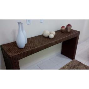 Mesa Aparador Para Sala Cozinha Quarto Em Fibra Moderno Top
