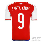 Camisa adidas Paraguai Home 2015 9 Santa Cruz Copa América