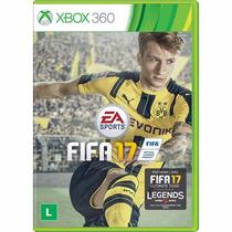 Fifa 17 Xbox 360 - Lacrado - Novo - Original Em Português