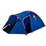 Barraca Tribo 5 Pessoas Camping C/ Varanda 3,5 X 2,8 X 1,5