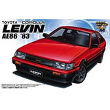 Juguete Aoshima 1/ Toyota Corolla Levin - Early Version Ae8