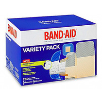 2 Cajas Con 280 Curitas Tamaños Surtidos Band-aid Cada Una