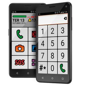 Celular Smartphone Para Idosos Ms50 Senior Multilaser P9015